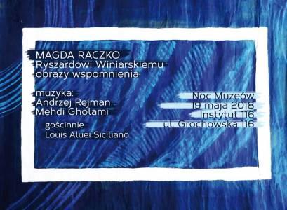 Plakat Magdalena Raczko
